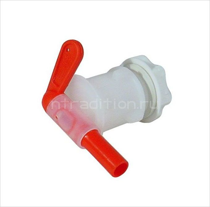 Кран пластиковый