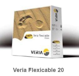 Двухжильный нагревательный кабель для теплого пола Veria Flexicable-20  197вт  10 м