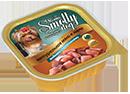 Зоогурман Smolly Dog Индейка с потрошками 100гр в ламистре