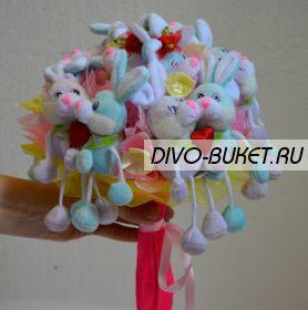"""Букет из игрушек №039-13 """"Любовь"""""""