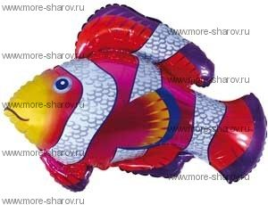 Шар фольгированный Рыба
