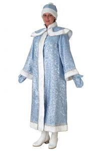 Снегурочка с пелериной голубой сантун
