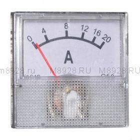 Амперметр 20А 40мм