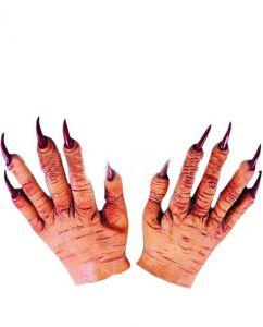 Руки-перчатки с когтями