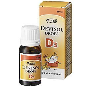 DEVISOL DROPS D3 TIPPA 10 ML