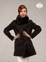 Женский меховой воротник шарф из норки купить Москва фото