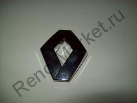 """Эмблема """"Ромб"""" передняя Logan фаза1 (2005-2009) Renault оригинал 8200445618"""