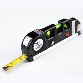 Лазерный уровень с рулеткой, 3 в 1