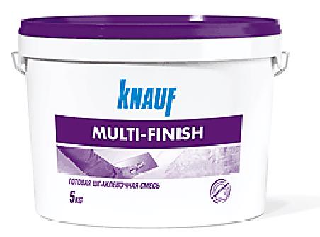 КНАУФ Мульти-финиш паста. Готовая шпатлевка.