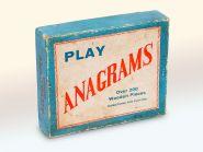 ANAGRAMS (АНАГРАММЫ) - настольная игра конца 1940 годов