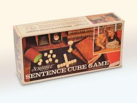 SCRABBLE SENTENCE CUBE GAME (ФРАЗЫ НА КУБИКАХ)