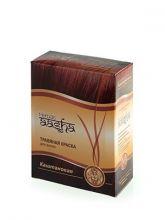 Каштановый - Ааша -травяная краска для волос, 60 г