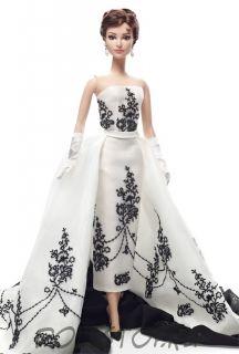 Коллекционная кукла Барби 'Одри Хепбёрн - Сабрина' (Audrey Hepburn as Sabrina), Barbie Silkstone Gold Label, коллекционная Mattel [X8277]