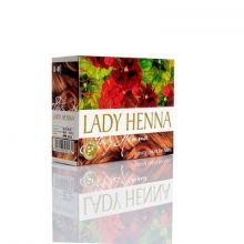 Lady Henna - цвет Светло-Коричневый -краска для волос на основе индийской хны, 60 г