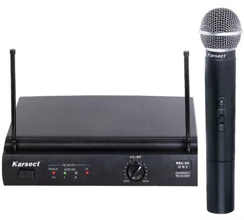 KARSECT KRU-301/KST-5U/UHF/2 Радиосистема 1 ручной микрофон
