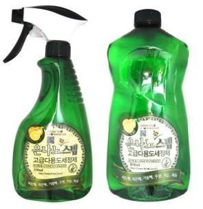580015 Универсальное жидкое чистящее средство для дома с серебром, 550ml