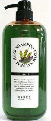 Шампунь на основе натуральных раститетльным комплексом (с экстрактом бурых водор, для повр. волос) Junlove 1000 мл