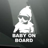 Виниловая наклейка на автомобиль Baby on Board