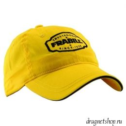 Бейсболка FRABILL BASEBALL HAT WITH BADGE, желтая (#7601)