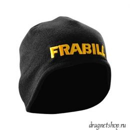 Шапка с ушами FRABILL KNIT HAT WITH EAR FLAPS, черная, дышащая, one size (#7591)