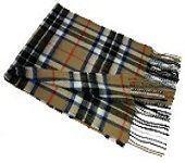 шарф 100% шерсть , расцветка клан Томсон THOMSON CAMEL MODERN TARTAN LAMBSWOOL SCARF