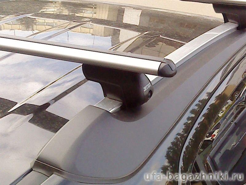 Багажник на крышу Opel Mokka, аэродинамические дуги на рейлинги Атлант