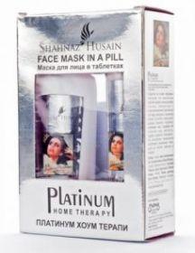 PLATINUM ULTIMATE SKIN RECHARGE SOLUTION+FACE MASK 100ml / Восстанавливающий раствор для максимального ухода за кожей на клеточном уровне Shahnaz Husain