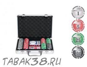 Покерный набор Nuts на 200 ф. кейс (фишки 11,5г номинал 7775)