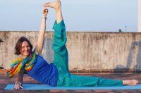 купить прямые штаны для йоги, 350 руб. Мужские и женские