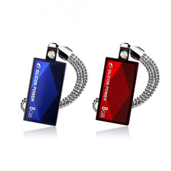 8GB USB-флэш накопитель Silicon Power Touch 810 Blue