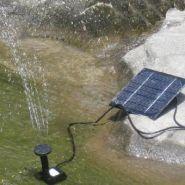 Фонтан на солнечных батареях