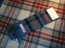 шарф 100% шерсть , расцветка клан Макдональд (древний вариант)