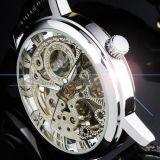Мужские механические часы Winner Skeleton M8