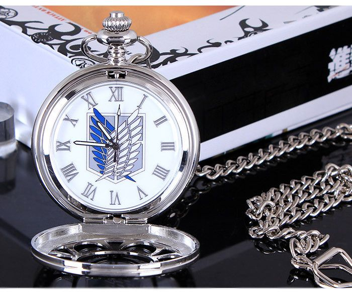"""Карманные аниме часы """"Shingeki no Kyojin"""""""