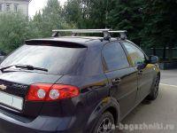 Багажник на крышу Chevrolet Lacetti (sedan, hatchback), Атлант, аеродинамические дуги, опора E