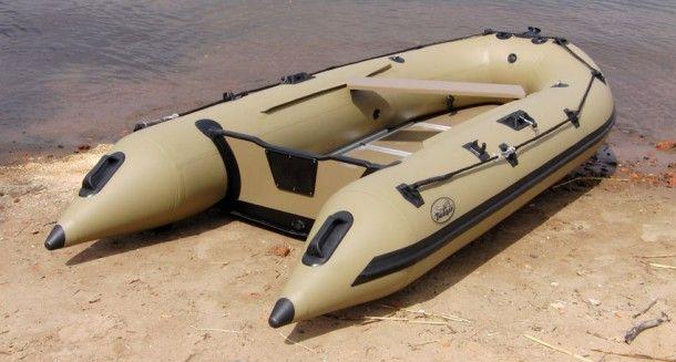 Надувная лодка Badger Duck Line 390 AL