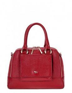 Повседневная красная сумка
