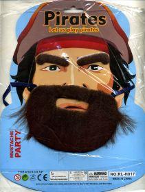 """Набор """"Пираты"""". Усы, борода, брови."""