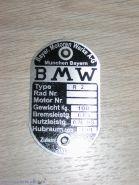 Табличка BMW R-2
