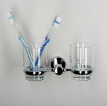Подстаканник двойной стеклянный WasserKRAFT