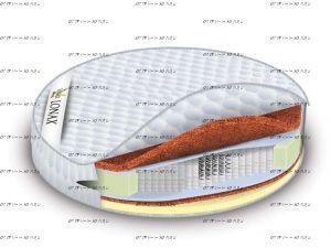 Матрас Lonax Round Cocos-Medium S1000