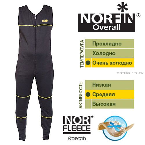 Купить Термобельё Norfin Overall (Артикул: 3028003)