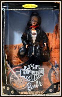 Коллекционная кукла Барби Харлей-Дэвидсон Третья кукла  - Harley-Davidson Barbie Doll #3