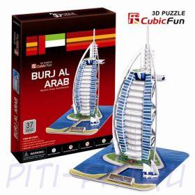 """CubicFun. 3D пазлы. Дома и отели. Отель """"Бурж эль Араб"""""""