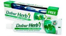 Натуральная зубная паста с базиликом Dabur Herb'l Basil, 150г