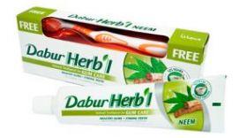 Зубная паста для укрепления дёсен с нимом Dabur Herb'l Neem, 150г