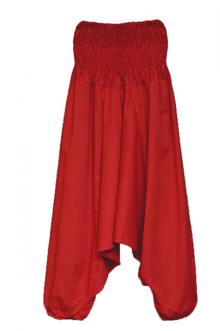 Красные штаны алладины (отправка из Индии)