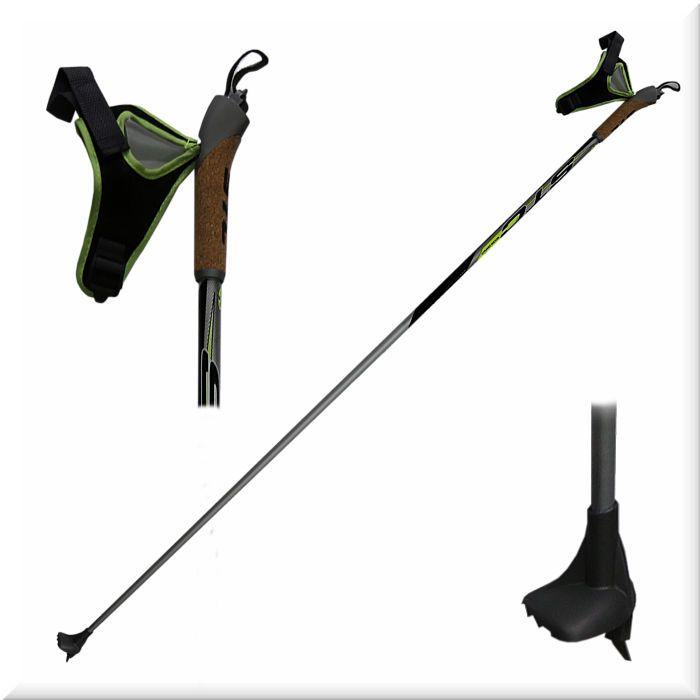 Палки лыжные STC AVANTI RS (100% уголь)