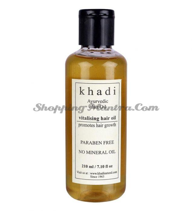 Аюрведическое масло для укрепления волос без парабенов и минеральных масел Кхади / Khadi Natural Vitalising Hair Oil