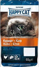 Happy Cat Лакомое печенье с курицей и сыром 65гр